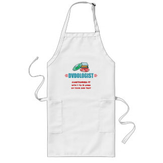 Love Watching Movies Long Apron