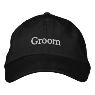 LOVE Wedding Groom Embroidered Baseball Hat