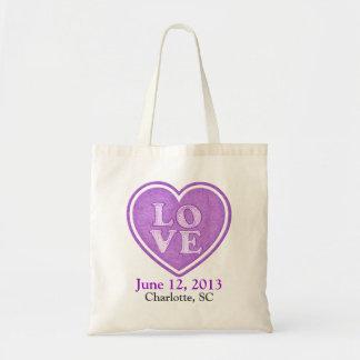 Love Wedding Guest Tote Bag Favor