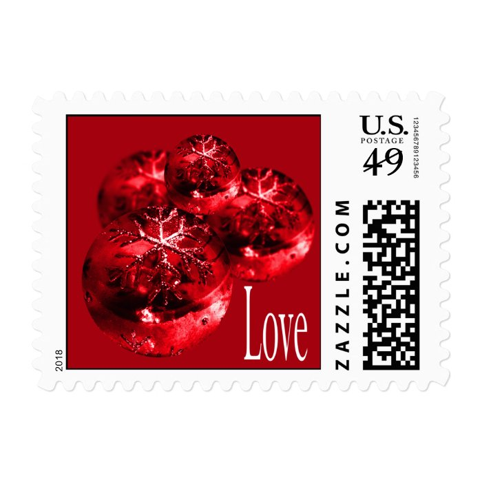 Love Wedding In December Postage