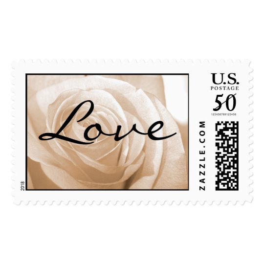 Love Wedding Postage