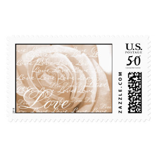 Love Wedding Stamp
