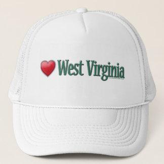 Love West Virginia Trucker Hat