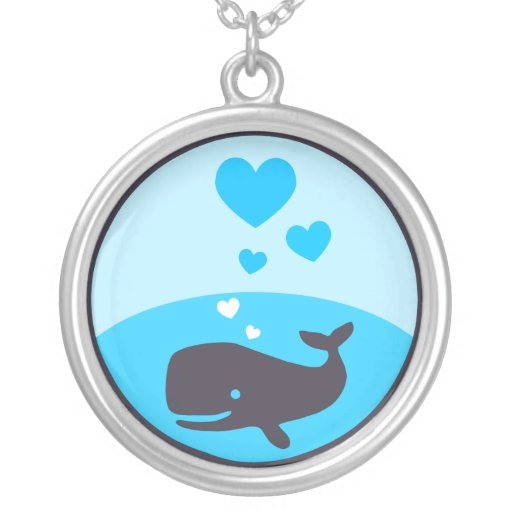 Love Whales necklace