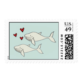 Love Whales Postage