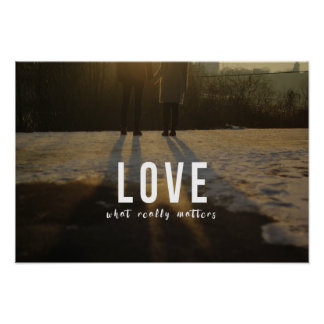 Love - What really matters Poster