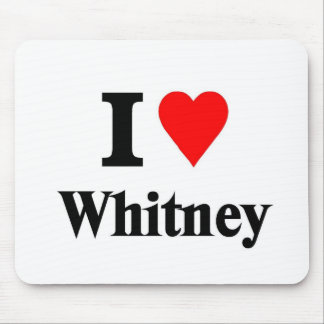 Love Whitney Mouse Pad