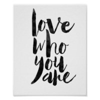 Love Who You Are Poster