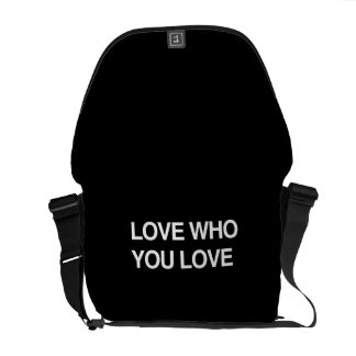 LOVE WHO YOU LOVE COMMUTER BAG