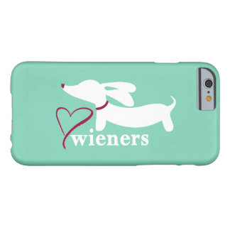 Love Wiener Dogs Dachshund Mobile Cell Phone Case