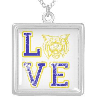 Love Wildcat Football Necklace