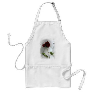 Love will always bloom adult apron