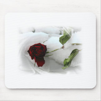 Love will always bloom mouse pad