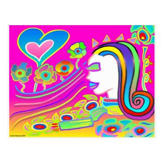 Love Will Blossom: Dream Space Postcard