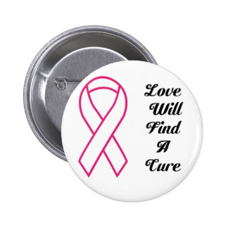 Love Will Find A Cure Custom Awareness 2.5 Button