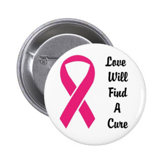 Love Will Find A Cure Custom Awareness Button