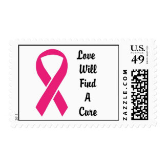 Love Will Find A Cure USPS Awareness Stamp