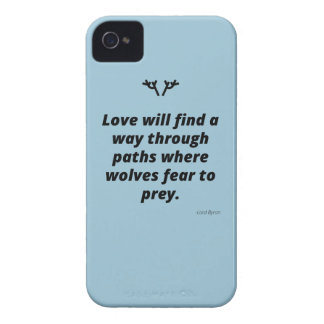 Love will find a way iPhone 4 cover