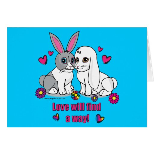 Love Will Find a Way: Ross and Curia Stationery Note Card