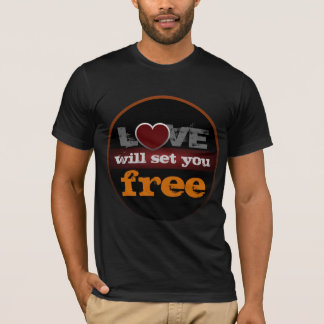 Love Will Set You Free American Apparel T-Shirt