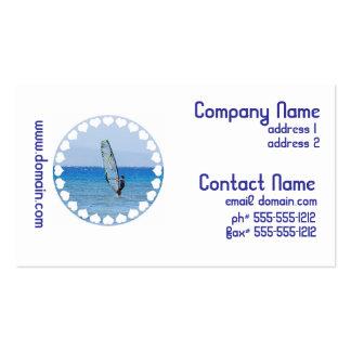 Love Windsurfing Business Cards