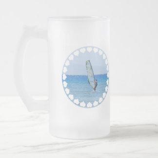 Love Windsurfing Frosted Mug