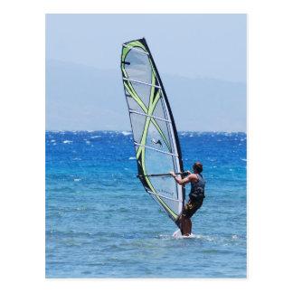 Love Windsurfing Postcard