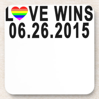 LOVE WINS 06 26 2015 '.png Coaster