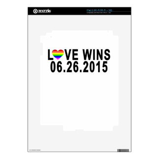 LOVE WINS 06 26 2015 '.png iPad 2 Decals