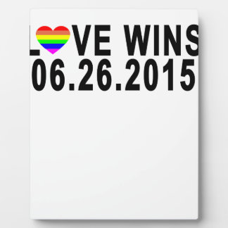 LOVE WINS 06 26 2015 '.png Plaque