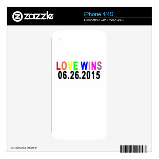 LOVE WINS 06 26 2015.png Skin For iPhone 4S