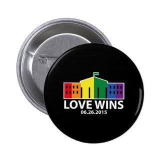 Love Wins 2 Inch Round Button
