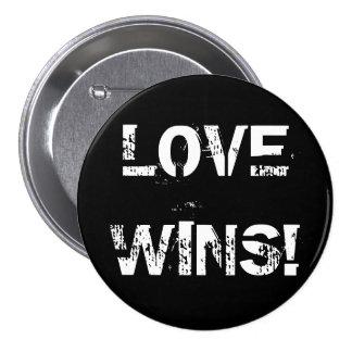 LOVE WINS! 3 INCH ROUND BUTTON