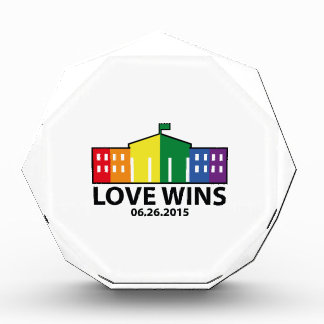 Love Wins Acrylic Award
