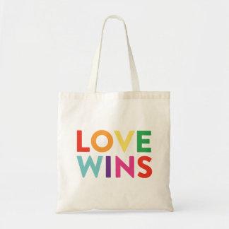 Love Wins Budget Tote Bag