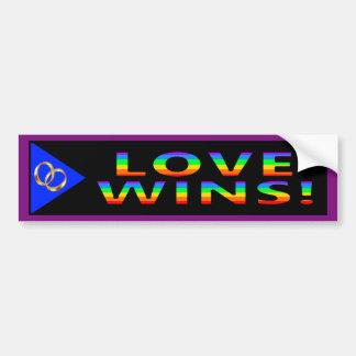 Love Wins! Bumper Sticker