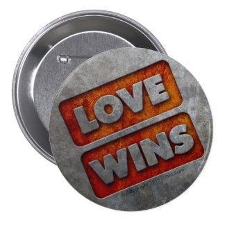 LOVE WINS button 03 grunge