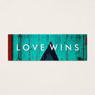 Love Wins Challenge Card