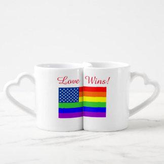 Love Wins Coffee Mug Set