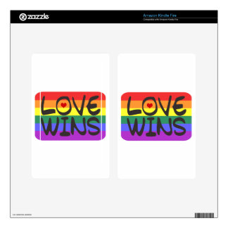 Love Wins Decal For Kindle Fire