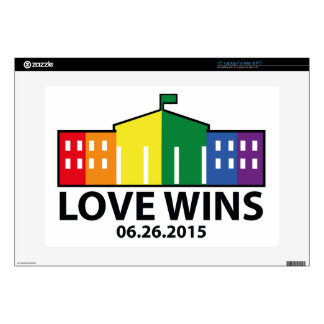 Love Wins Decal For Laptop