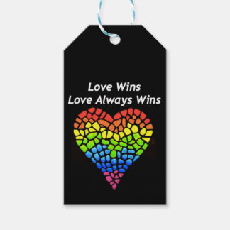 Love Wins Gift Tags