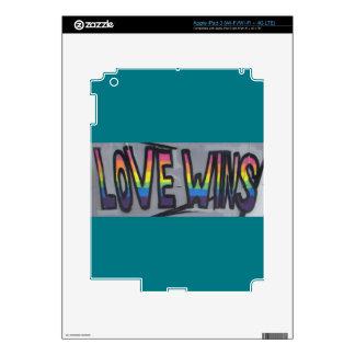 Love Wins iPad 3 Decals