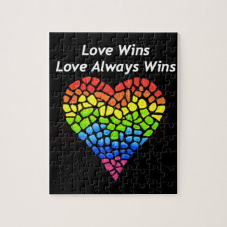 Love Wins Jigsaw Puzzle