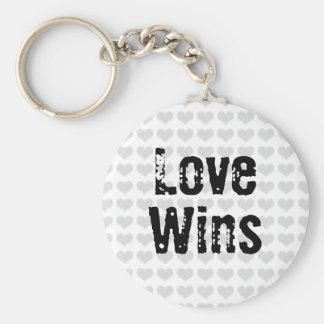 Love Wins Keychain