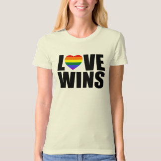 LOVE WINS! #LOVEWINS CELEBRATE MARRIAGE EQUALITY! T SHIRTS