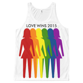 Love Wins Marriage Equality All-Over Print Tank Top