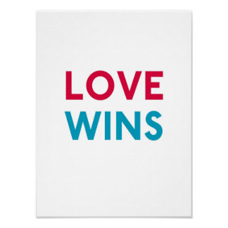 Love Wins Momastery Print