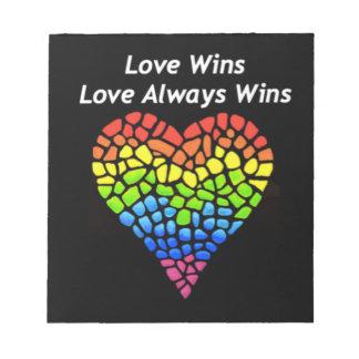 Love Wins Notepad