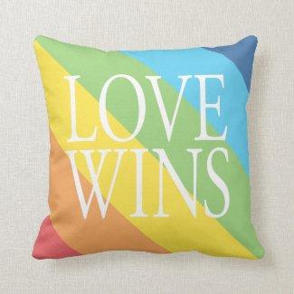 Love Wins Pillow